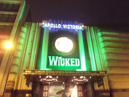 Wicked - Apollo Victoria Theatre - Victoria, London - Wilton Road entrance