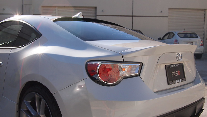 Beat Sonic Frw1 Roof Spoiler For Scion Fr S And Subaru Brz