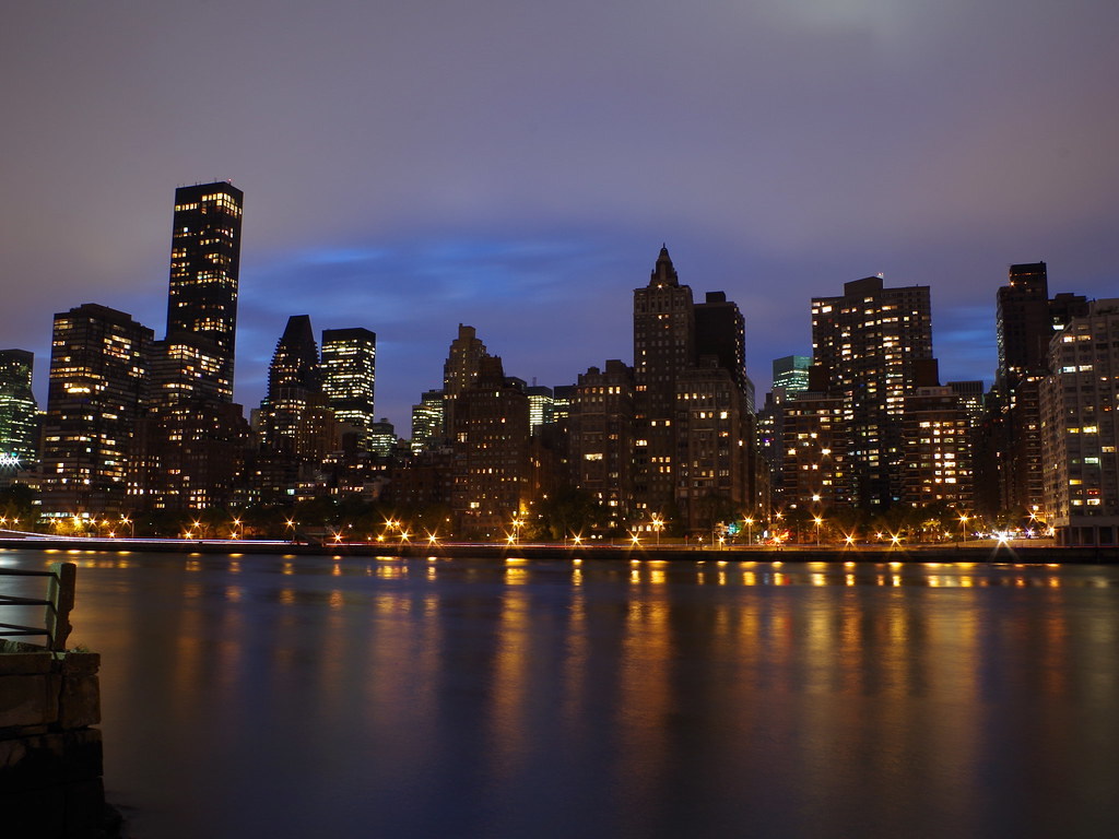 紐約夜景Midtown manhattan skyline by k-01[18P]