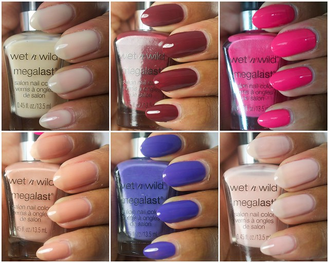 More Wet 'n Wild MegaLast polishes