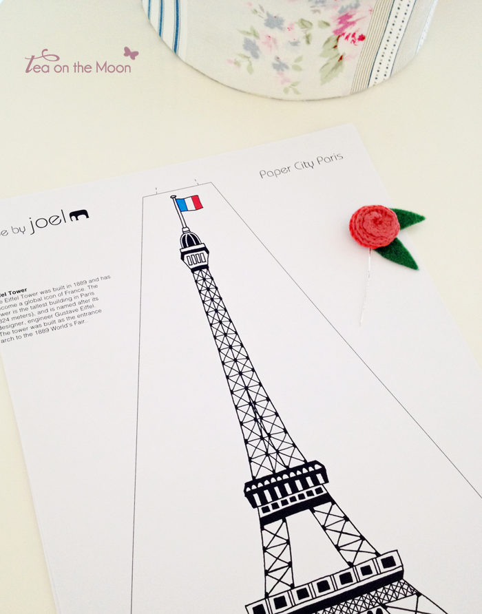 Recortable Torre Eiffel París