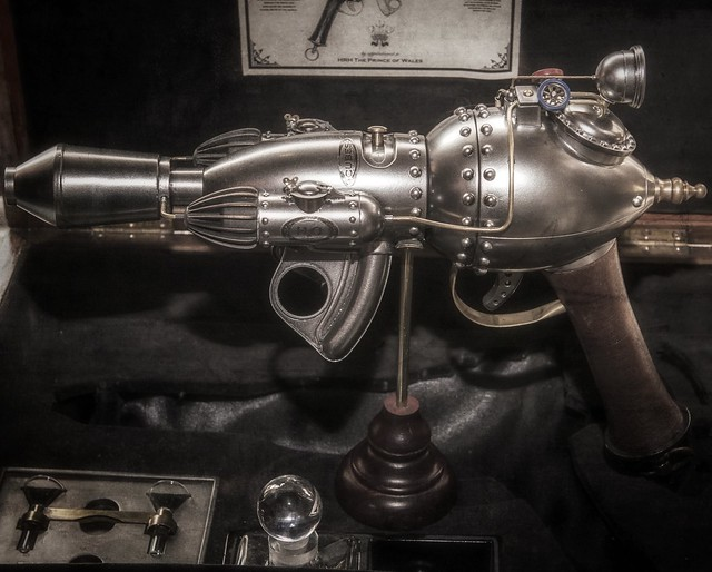 steampunk handgun
