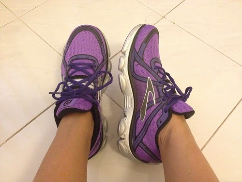 another running shoes...