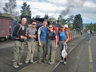 CMC Hikers Ready to Ride the Rails