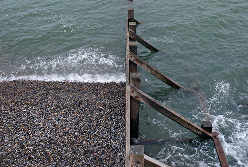 Wave breaker at Sheringham