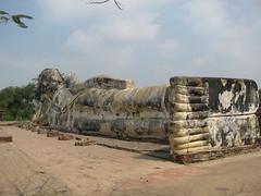 Reclining Buddah, Wat Lokayasutharam, Ayutthaya