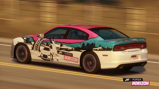 2012 Dodge Charger SRT8 with LCE Livery