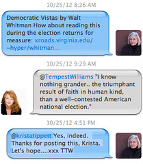 Twitter thread between Terry Tempest Williams and Krista Tippett