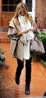 Cat Deeley Cape Coat Celebrity Style Women's Fashion