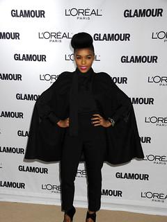 Janelle Monae Cape Coat Celebrity Style Women's Fashion