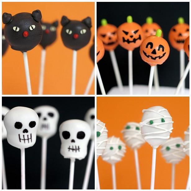 Bakerella's Halloween cake pops