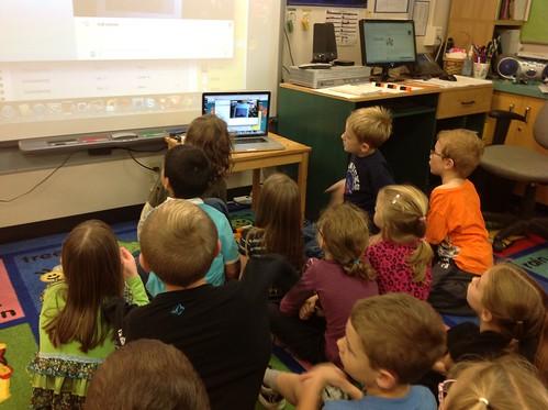 Skype with Ms Elder's Class