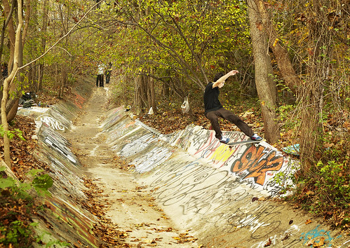 Cole Kamish - Ditch Slalom to Tailslide