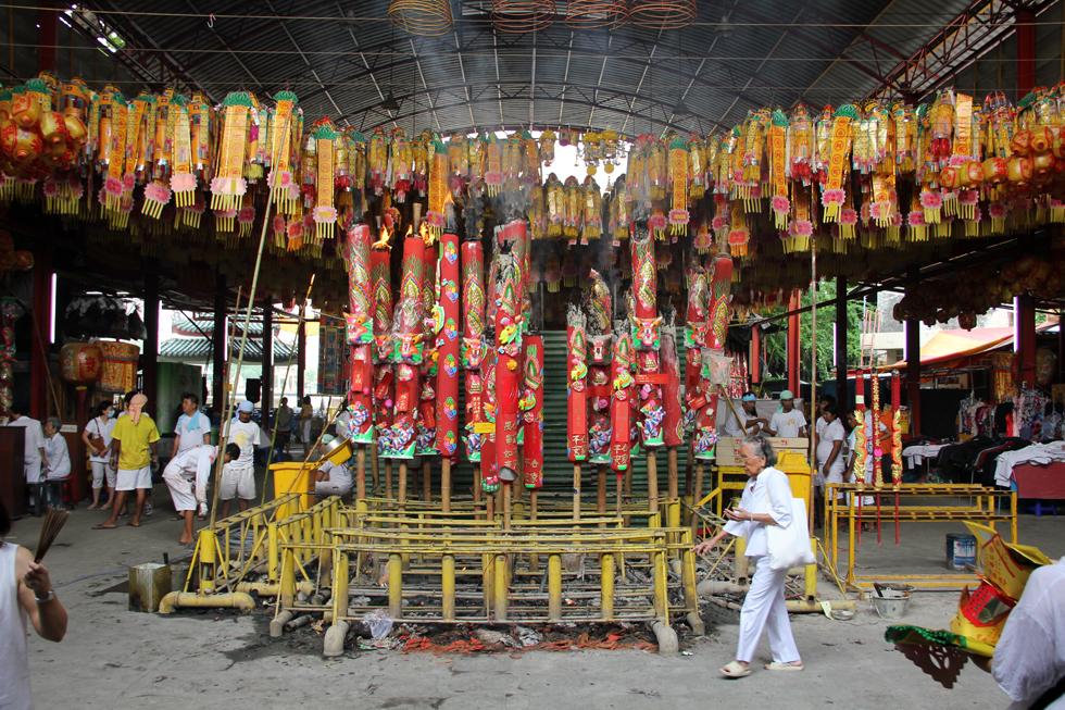 Bangkok vegetarian festival 2012