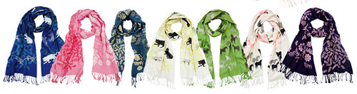 Bonbi Forest Scarves!