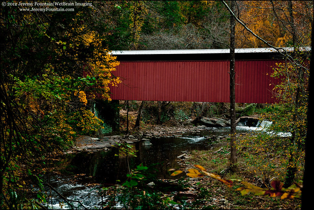 Thomas Mill Covered Bridge (1855)