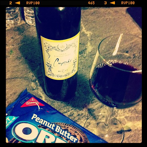 Hurricane sandy and buy one get one at a&p has helped me become a connoisseur of Oreo and wine pairings.