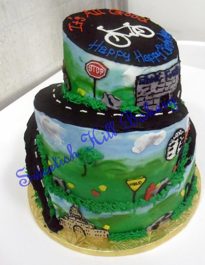 Sweetishhillbakery Austin Bikers Birthday Cake