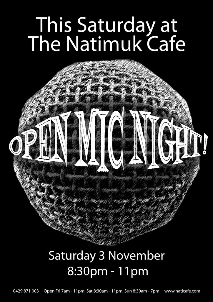 NatiCafe_OpenMic_Sat3Nov