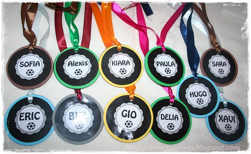 medallas kit futbolero Merbo Events