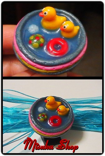 Anillo Patitos Piscina