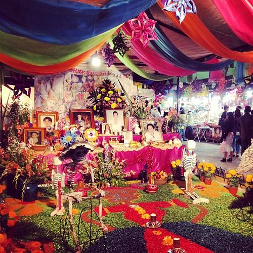 Altar de muertos #irapuato #mexico #diademuertos