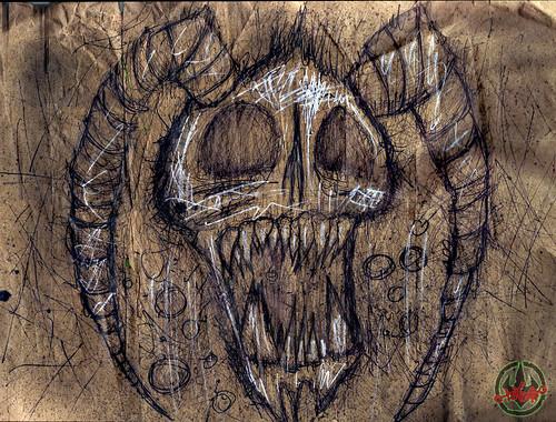 Andrew Modeen's TMNT: Odyssey :: SAVANTI SKULL
