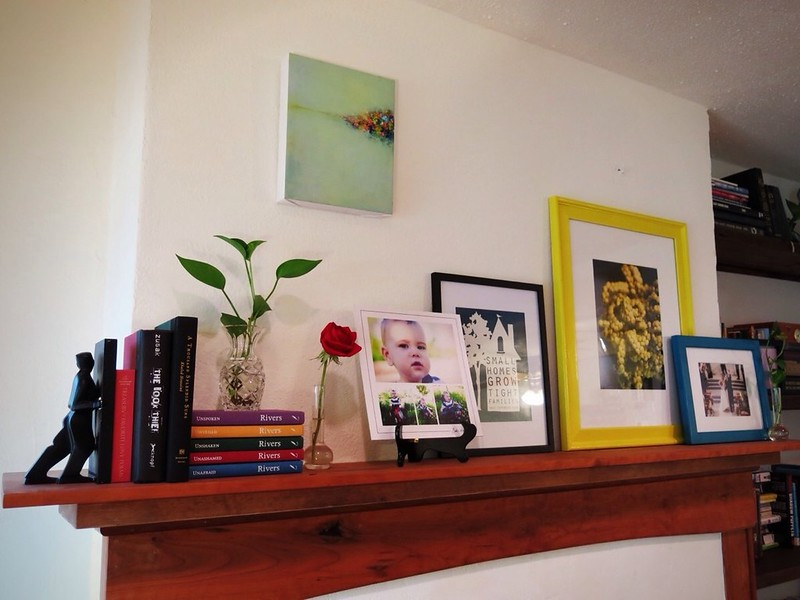 Eclectic Mantel