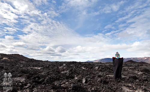 Black Lava, Iceland, Jörð Andi Serie