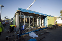 <p>Canopea / Solar Decathlon Europe 2012 / I+D+Art<br /> <br /> Assembly</p>