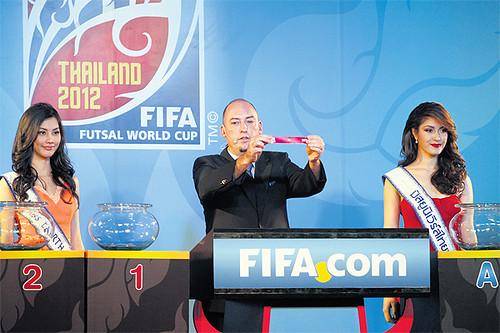 FIFA Futsal World Cup Thailand 2.012 Pertandingan Jadwal dan Daftar TV