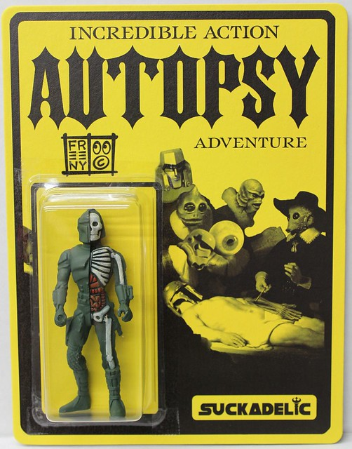 Incredible Action Autopsy Adventure by Jason Freeny x Suckadelic Edition of 50 $100 each