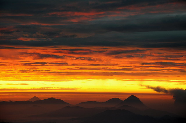 Golden Sunrise & Volcanoes of Guatemala
