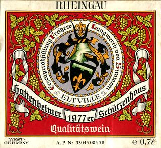 1977 - Hattenheimer Schützenhaus (Rhine)