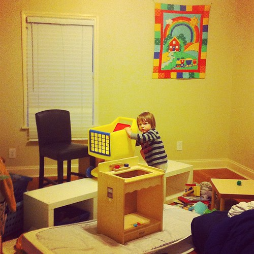 Why you should check on your child if they've been playing quietly in their room for too long.