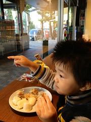 スタバで朝御飯 (2012/11/2)