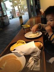 スタバで朝御飯 (2012/11/3)