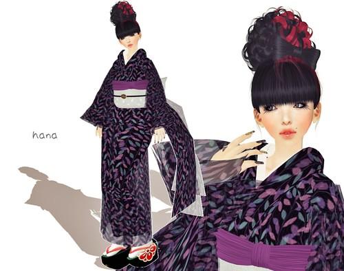 Winter kimono.