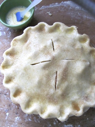 Martha Stewart's Brandy Apple Pie