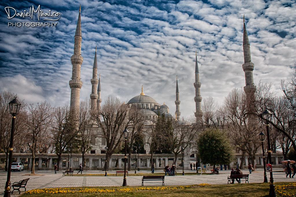 Blue Mosque, Istanbul by Daniel Mihai