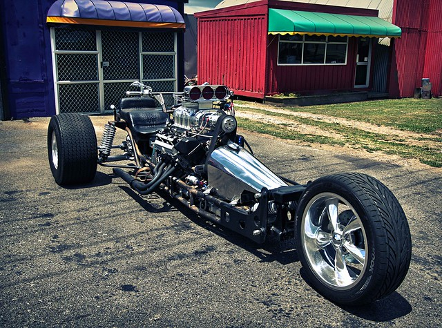 V8 Trikes Homemade http://www.flickr.com/groups/3-wheelers/pool/?view=lg