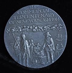 Tercentenary Medal obverse