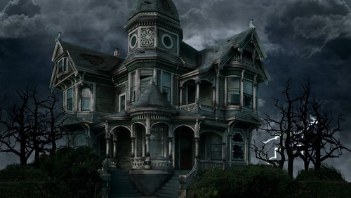 Stormy Haunted House