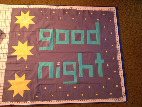 Anne's stars + my good night blocks!