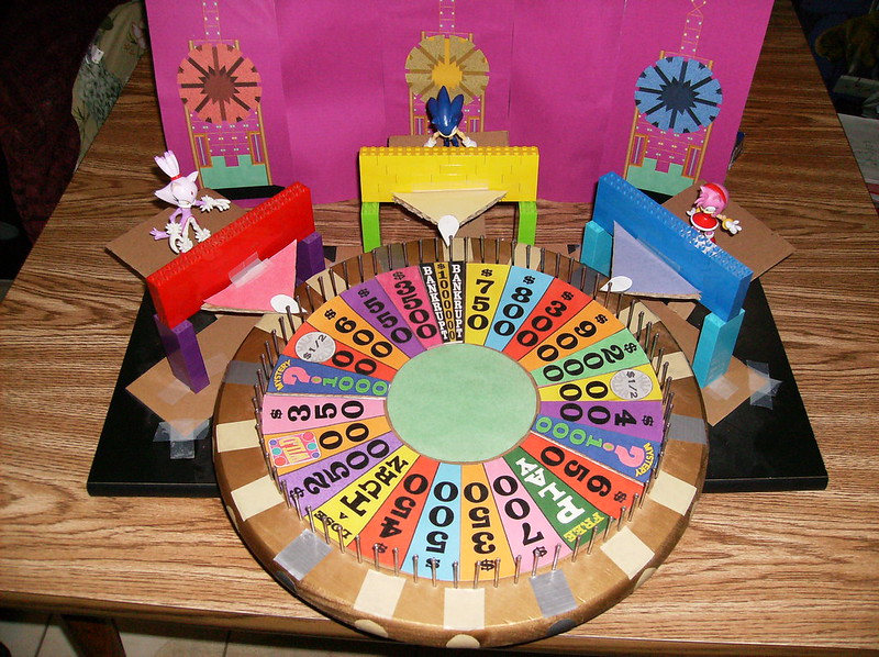 disney wheel of fortune board game instructions