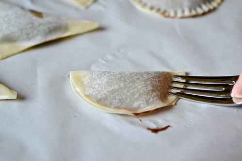Baked Nutella Ravioli-4