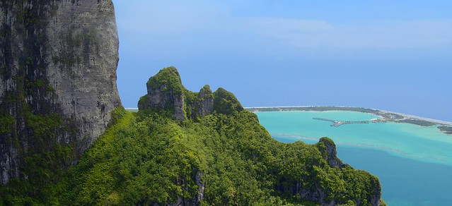 The St. Regis Bora Bora Resort—View from Mt. Otemanu