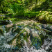 Silberbachtal # 1 - Bach mit Felsen, im Sommer - Creek flows over rocks, summer