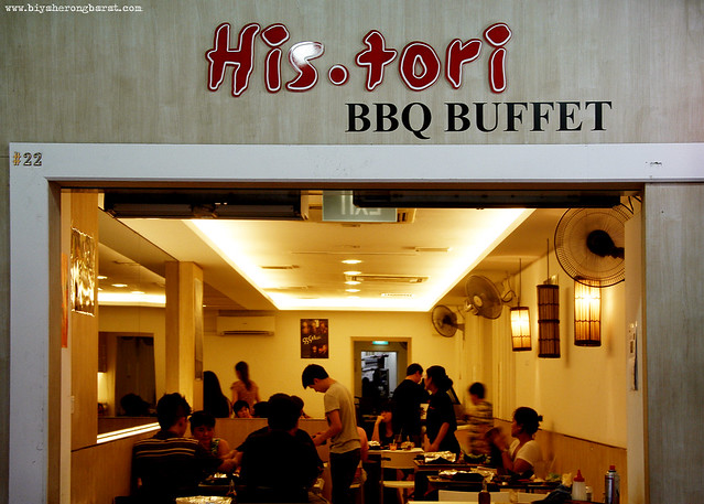 His.Tori BBQ Buffet Tanjong Pagar SIngapore