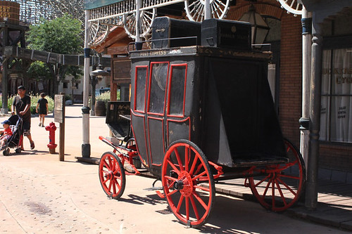 carrozza del Far West